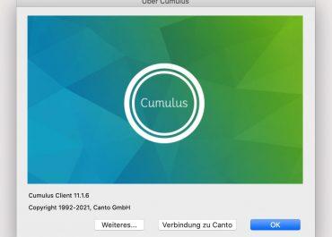 Canto Cumulus 11.1.6 ist da